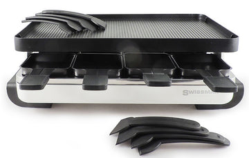 SWISSMAR Classic Raclette with Cast Iron Top