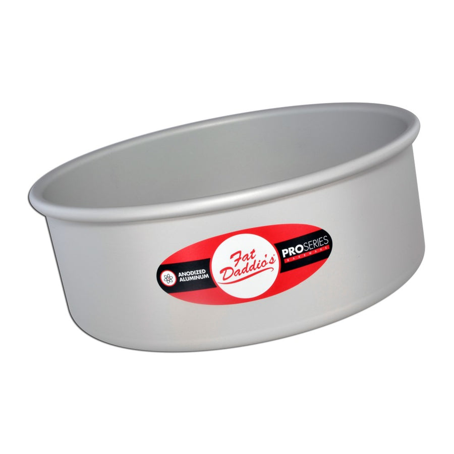FAT DADDIO'S Cake Pans, Round, Solid Bottom