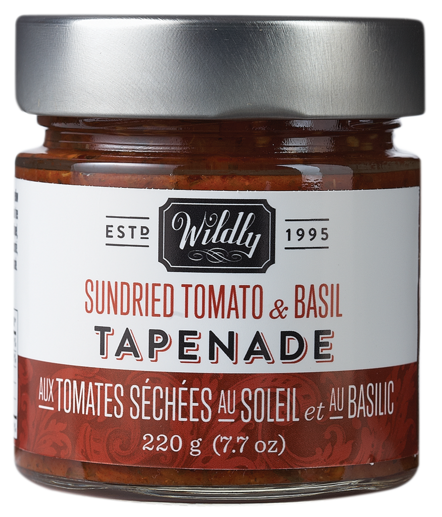 WILDLY DELICIOUS Sundried Tomato & Basil Tapenade