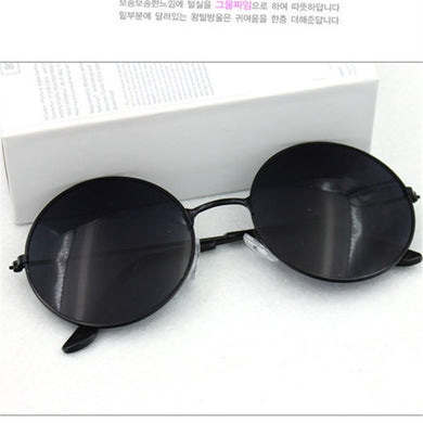 Beautiful Vintage Round Mens Women Sunglasses Retro Female Male Gold Sun Glasses Women's Men's Glasses
