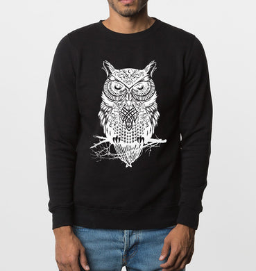 brand Drake Owl animal sweatshirts 2017 autumn winter new fashion men hoodies hip hop style cotton streetwear top clothing