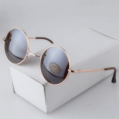 Fashion Round Sunglasses Men Women Vintage Circle Sun Glasses