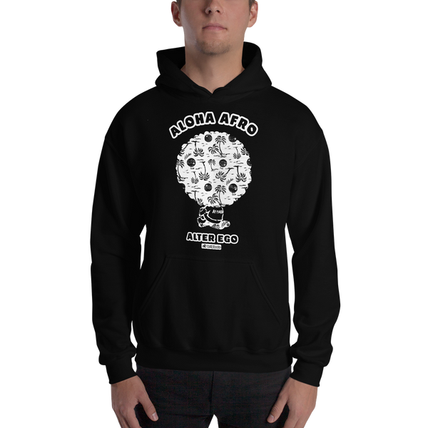 Alter Ego -Old Hawaii- Mens Hooded Sweatshirt
