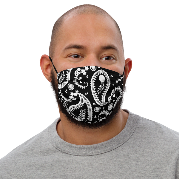 Alter Ego Paisley Premium Face mask