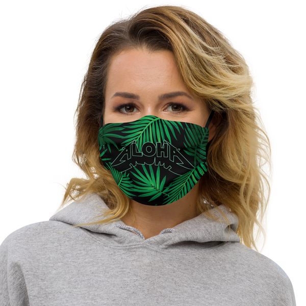 Aloha Tribe Palm Metal Premium Face mask