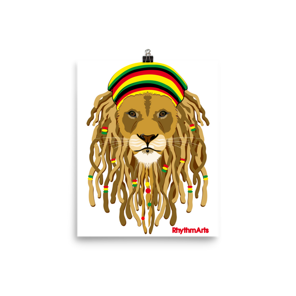 RhythmArts -ZionLion- Photo paper poster