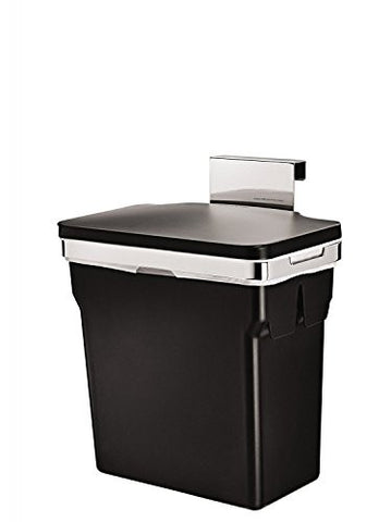 Simplehuman - CW1643 Cabinet Bin with Heavy Duty Frame, Steel, Black - Country Kitchenware