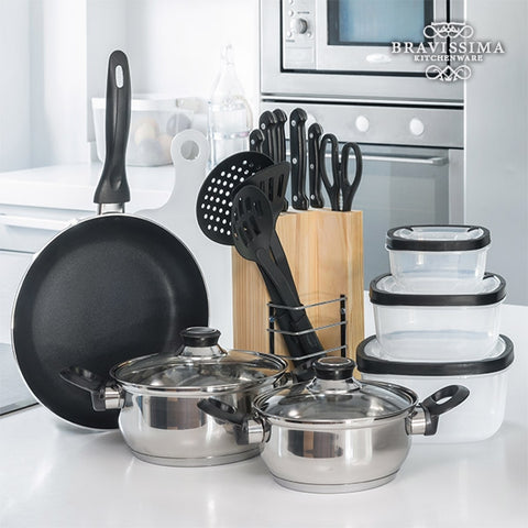 Bravissima Kitchen Set (17 pieces) - Country Kitchenware