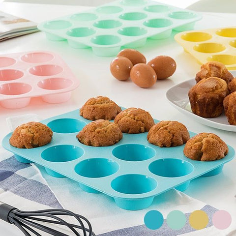 Silicone Mould For 12 Madeleines - Country Kitchenware