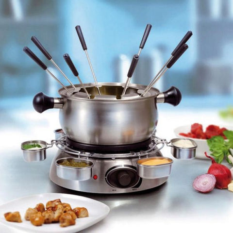 Stainless Steel Fondue Set Tristar FO1100 1 L 1300W - Country Kitchenware
