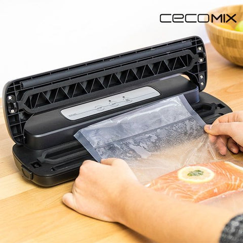 Vacuum Packer and Sealer Cecomix Sealvac 4049 LED 0,8 BAR 110W Black - Country Kitchenware