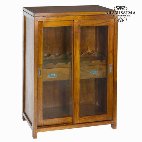 Wine cabinet with 2 drawers - Serious Line Collection by Bravissima Kitchen - Country Kitchenware