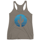 Venetian Grey Moonrise Tank Top by Cactus Goods