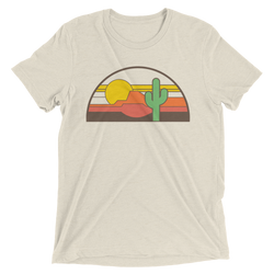 Desert Throwback Triblend T-Shirt