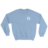 Light Blue Saguaro Cactus Crewneck Sweatshirt by Cactus Goods