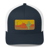 Desert Throwback II Mid Profile Trucker Hat