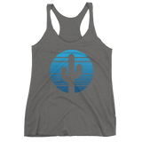 Premium Heather Moonrise Tank Top by Cactus Goods