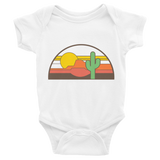 White Desert Throwback Onesie by Cactus Goods
