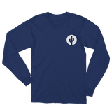 Navy Long Sleeve Saguaro Cactus T-Shirt by Cactus Goods