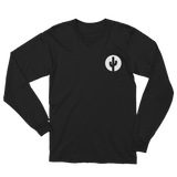 Black Long Sleeve Saguaro Cactus T-Shirt by Cactus Goods