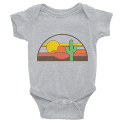 Grey Desert Throwback Onesie by Cactus Goods