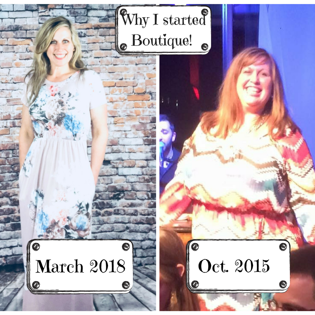 How I lost 120 lbs and why I started Boutique?!