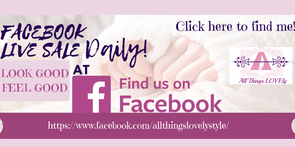 All Things Lovely Shop on Facebook Daily