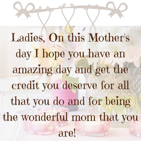 Mother's day celebration Empowering Ladies to feel good Moms day Boutique Fashion