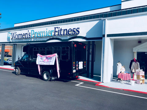 Women's Premier Fitness Marietta Georgia Mobile Boutique Fashion Truck Boutique on Wheels