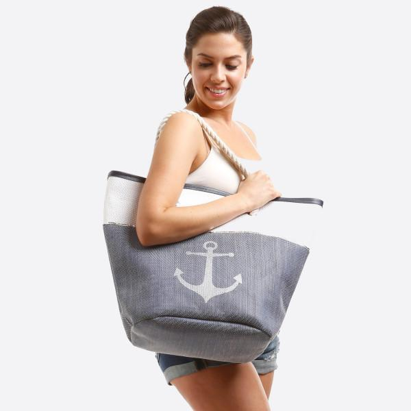 Anchor Canvas Bag Anchor Canvas Tote Bag