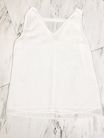 Basic Flare White Top Small Basic Flare White Top