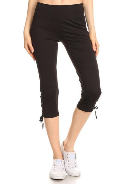 Black Capri Activewear pants Small/Medium Black Capri Activewear pants
