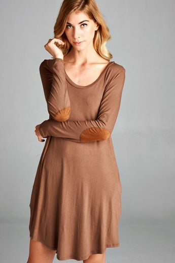 Mocha Tunic Dress Small Mocha Tunic Dress