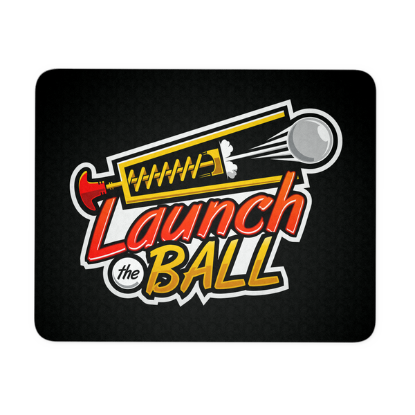 Launch The Ball Pinball Video Arcade Mouse Pad