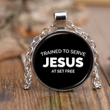 Trained to Serve Jesus at Set Free - Necklace