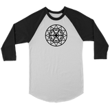 First United Unisex 3/4 Sleeve Raglan