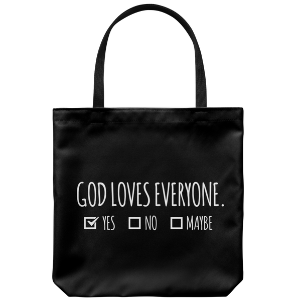 God Loves Everyone - Tote Bag