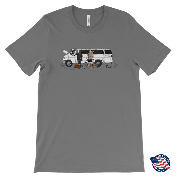 The Road To Edmond - Canvas Mens T-Shirt
