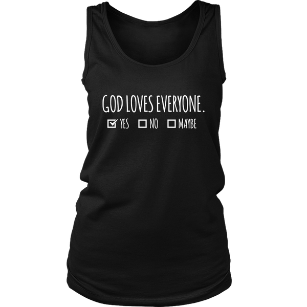 God Loves Everyone - District Womens Tank