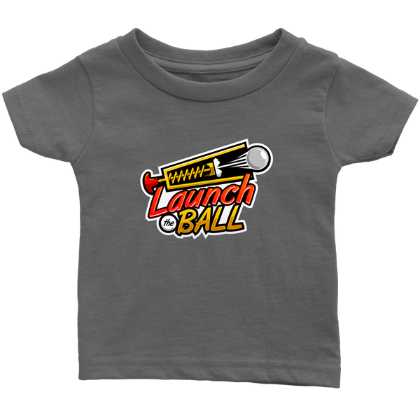 Launch The Ball Pinball Video Arcade Infant T-Shirt