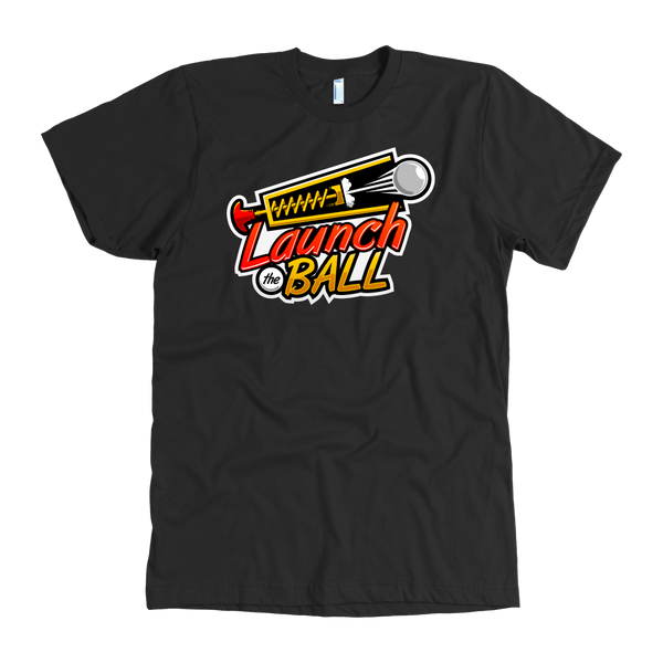 Launch The Ball Pinball Video Arcade Adult Tshirt