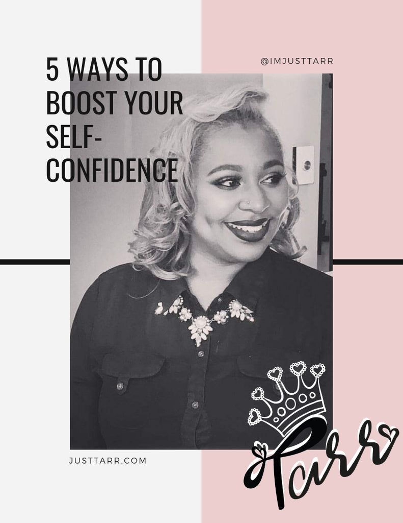 (Instant Download) 5 Ways To Boost Your Self Confidence E-Workbook