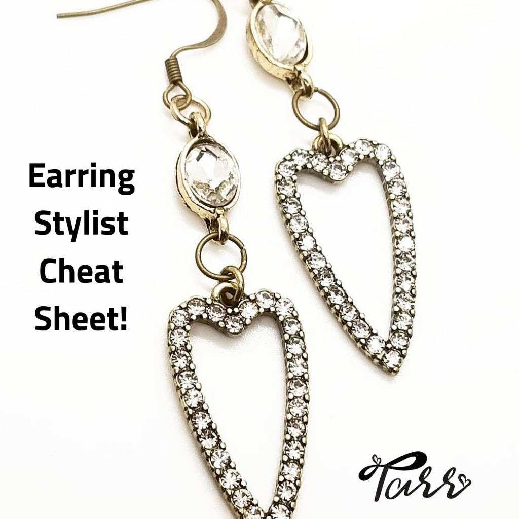 Earring Stylist Cheat Sheet (Free)