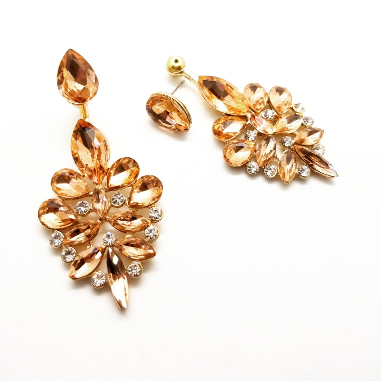 Dazzle Jacket Earrings