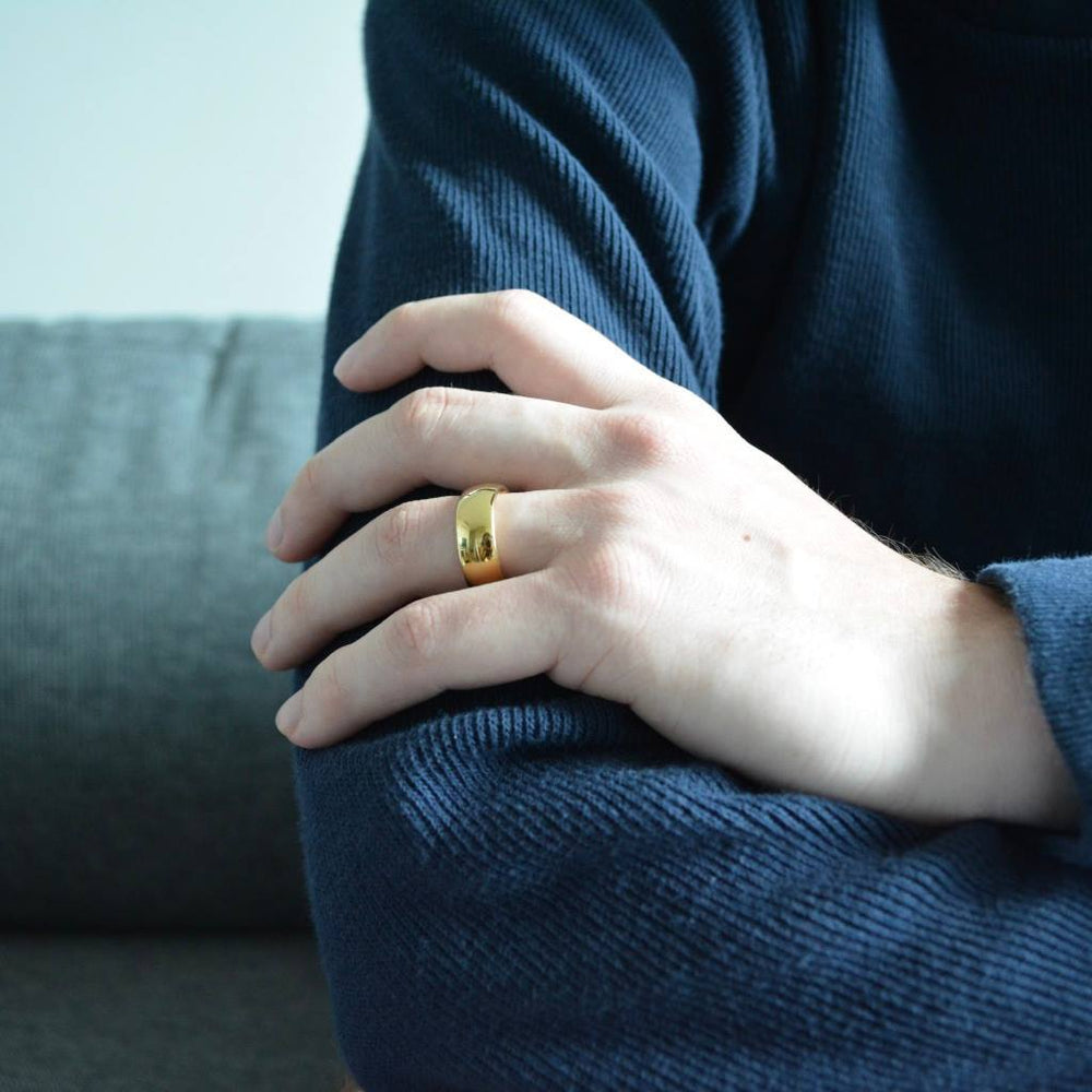 Men's Classic Gold Ring-etrnl