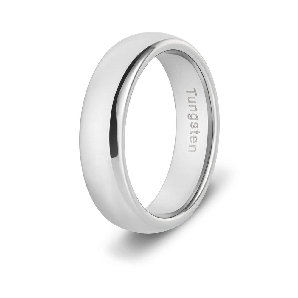 Men's Slim Tungsten Ring