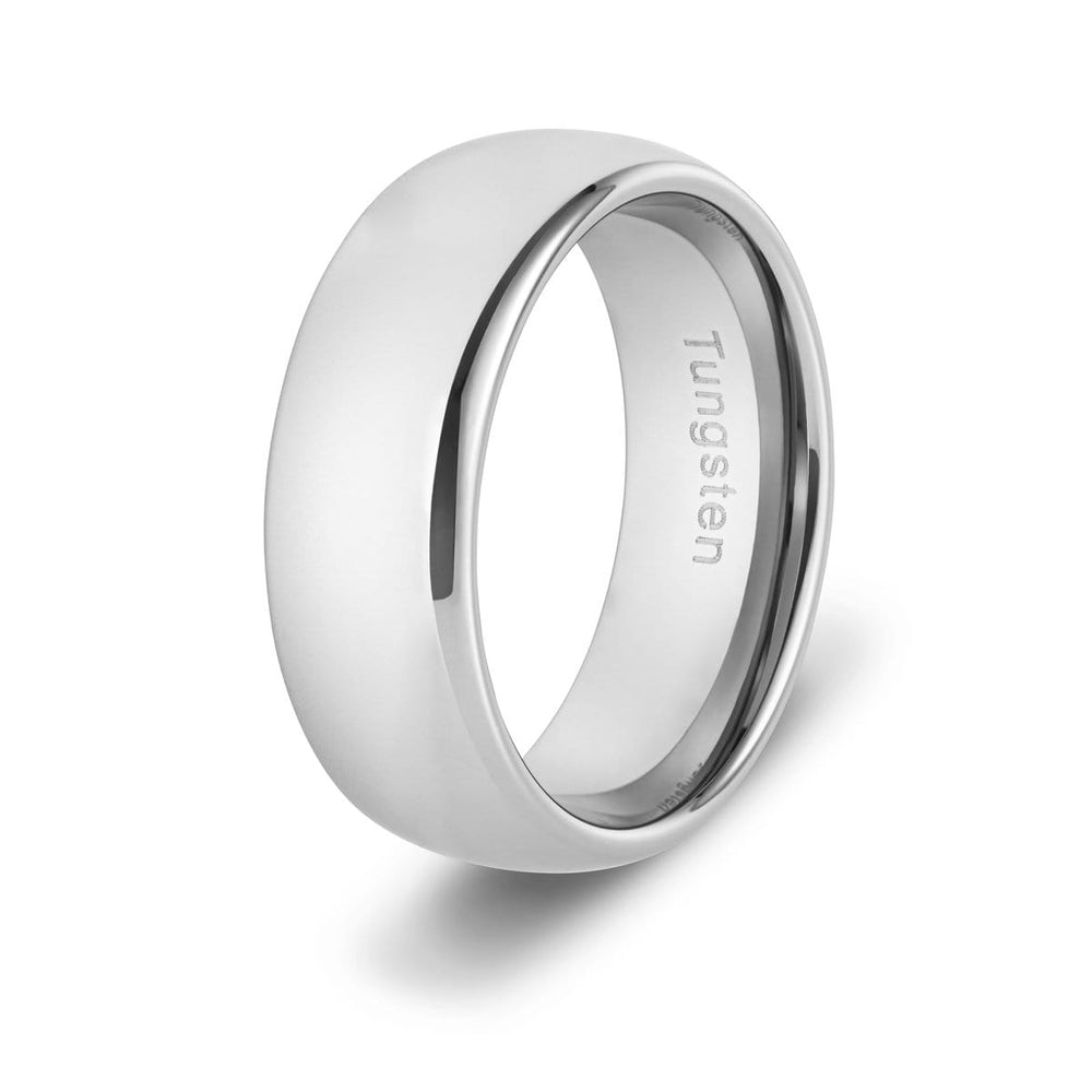 Men's Smooth Tungsten Ring