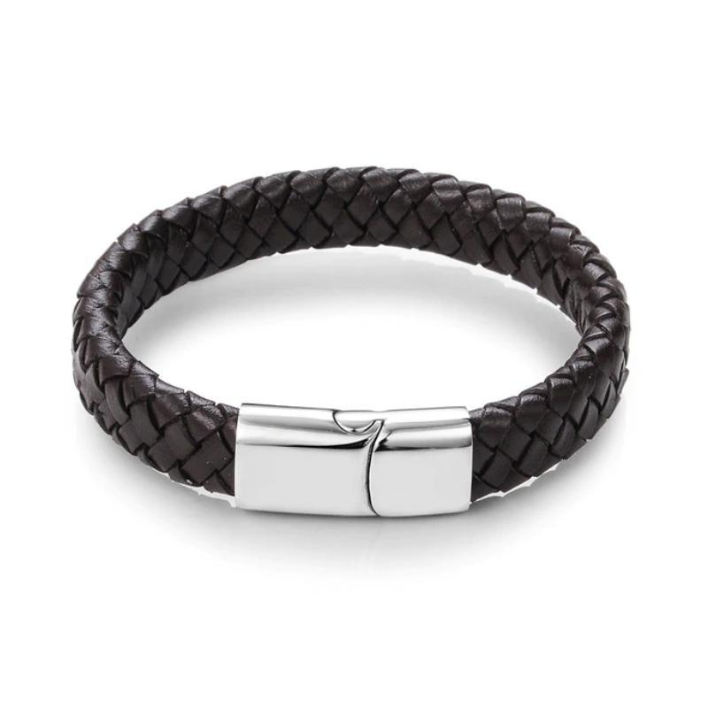 Wide Braided bracelet-etrnl