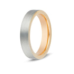 Women's Flat Edge Tungsten Ring