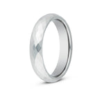 Women's Multifaceted Tungsten Ring